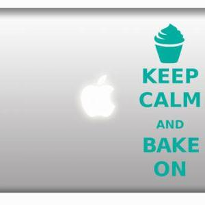 Keep Calm and Bake On - cupcake des..