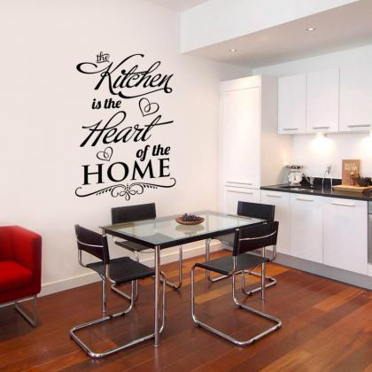Wall Decal Quotes - The Kitchen is ..