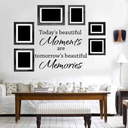 Wall Decal Quotes - Today`s Beautif..