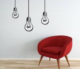 Wall Decal Bulbs han..