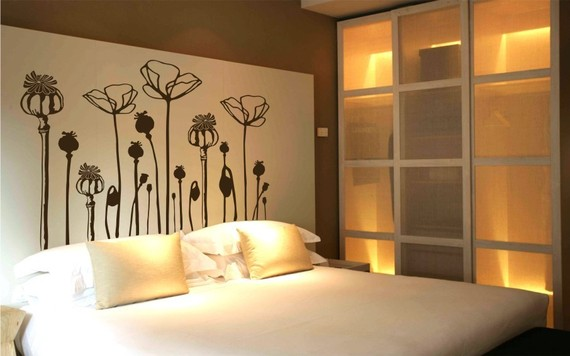New POPPY FLOWER Deco Mural Art Wall Sticker Decal & New POPPY FLOWER Deco Mural Art Wall Sticker Decal on Luulla