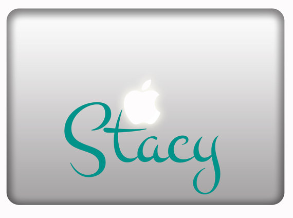 Personalized Stickers For Macbook And Laptops Vinyl Decal Custom - Custom vinyl decals macbook