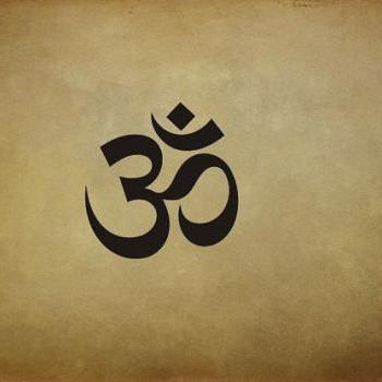 OM - Symbol Vinyl Wall Decal Sticker Buddha, Hindu by Ellys Studios