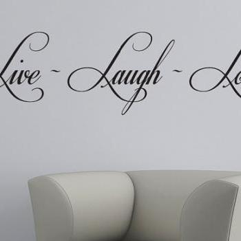 I LOVE YOU Wall Words Vinyl Decal Stickers For Walls I Always Will - Wall decals live laugh love