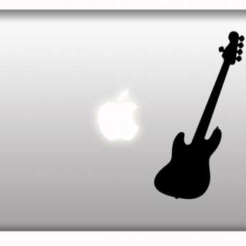 Music Guitar Stickers Macbook Laptop IPad Mac Rock Decal Stickers - Buy 2 get 1 Free